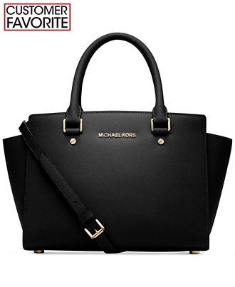 MICHAEL Michael Kors Selma Collection - Handbags ...