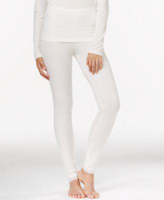Cuddl Duds Softwear Lace Leggings