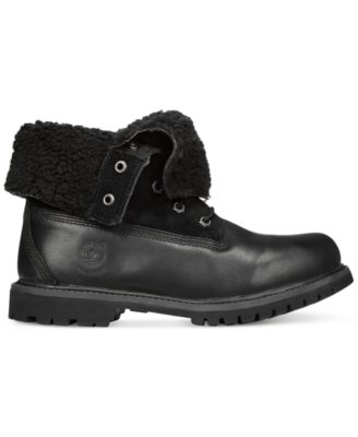 Timberland Womens Teddy Foldover Boots