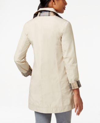 Barbour Water-Resistant Reversible Derby Mac Raincoat