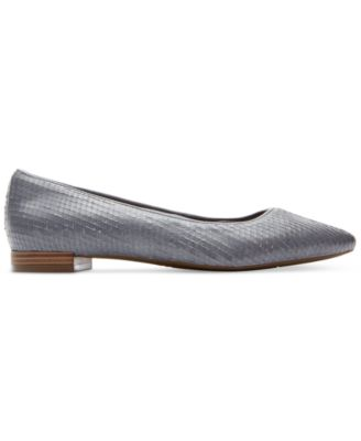 Rockport Womens Total Motion Adelyn Pointed-Toe Flats