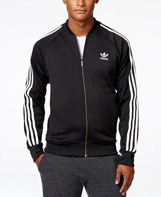 Adidas Originals Menu0026#39;s Superstar Zippered Track Jacket - Men - Macyu0026#39;s