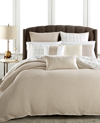 Hotel Collection Waffle Weave King Duvet Cover Only At