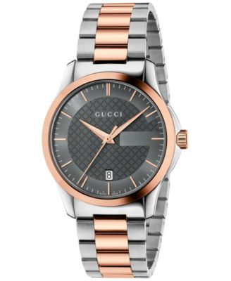 Gucci Unisex Swiss G-Timeless Two-Tone..