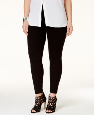 HUE Plus Size Cotton Leggings