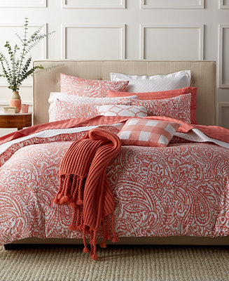 Charter Club Damask Designs Paisley Hibiscus Bedding