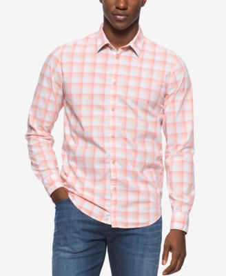 Calvin Klein Jeans Mens Spring Check L..