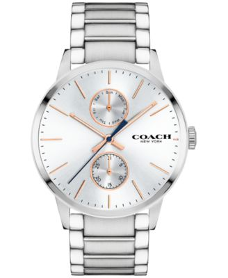 COACH Men's Metropolitan Stainless Steel Bracelet Watch 42mm 14602097