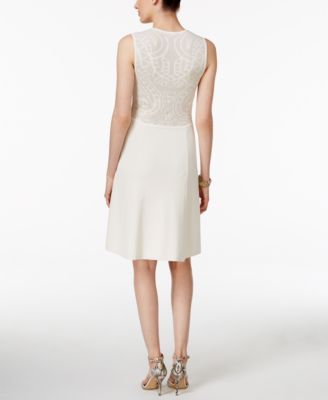 Anne Klein Knit A-Line Dress
