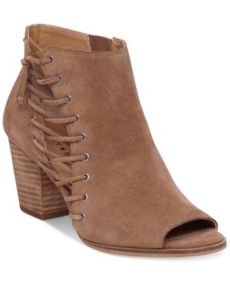 Lucky Brand Womens Hartlee Lace Up Booties