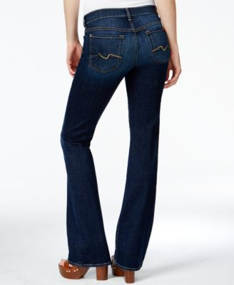 7 For All Mankind Bootcut Jeans Nouveau NY Dark-Wash