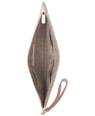 MICHAEL Michael Kors Analise Extra Large Zip Clutch