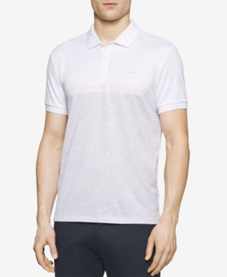 Calvin Klein Mens Slim-Fit Colorblocke..