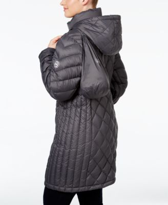 MICHAEL Michael Kors Plus Size Hooded Diamond-Quilted Packable Down Coat