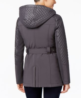 MICHAEL Michael Kors Quilted Hooded Coat
