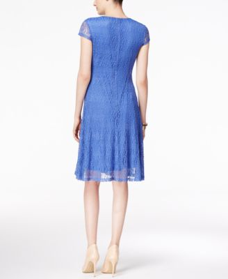 Alfani Lace A-Line Dress