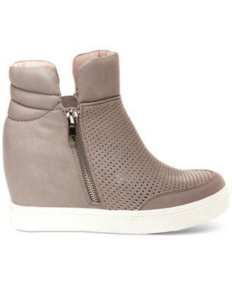 Steve Madden Womens Linqsp Wedge Sneakers