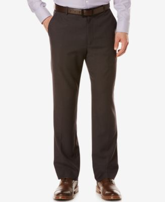 Perry Ellis Mens Tonal Micro-Check Pants