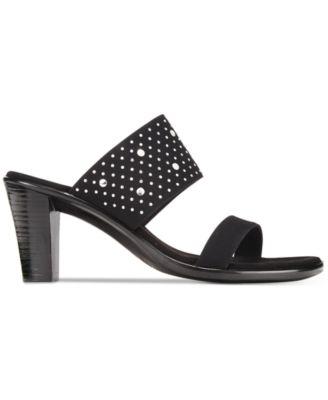 Onex Meri Embellished Slide Sandals