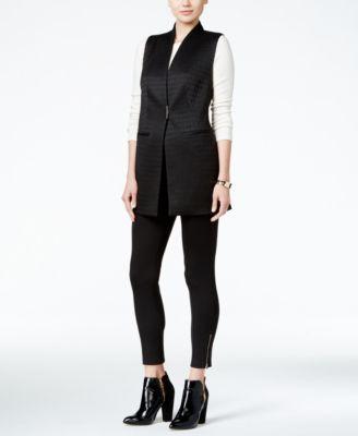 Alfani Petite Hardware-Detail Vest