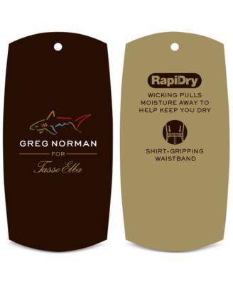 Greg Norman for Tasso Elba Mens Microfiber Golf Shorts