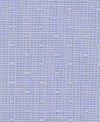 MICHAEL Michael Kors Mens Slim-Fit Non-Iron Light Blue Solid Dress Shirt