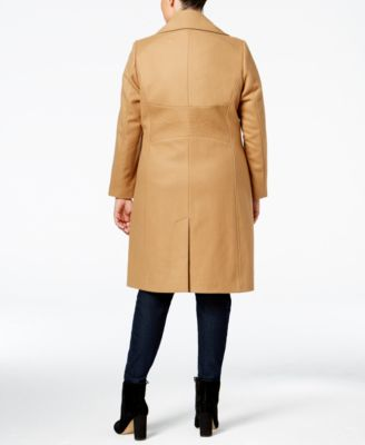Tommy Hilfiger Plus Size Wool-Blend Wa..