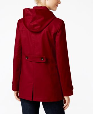 Charter Club Hooded Toggle Coat