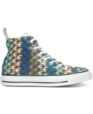 Converse Womens Chuck Taylor Missoni Hi Casual Sneakers from Finish Line