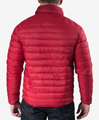 Hawke & Co. Outfitter Mens Big & Tall Quilted Packable Down Jacket