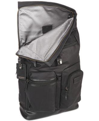 Tumi Mens Luke Roll-Top Backpack