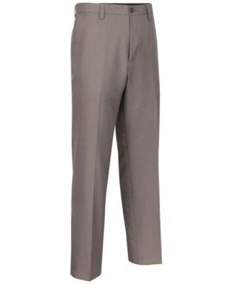 Greg Norman for Tasso Elba Mens Flat-Front Golf Pants