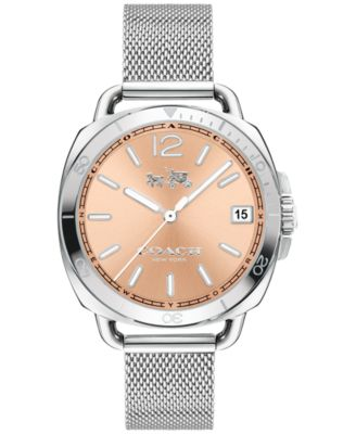 COACH Women's Tatum Stainless Steel Mesh Bracelet Watch 34mm 14502635