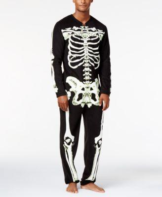American Rag Mens Skeleton Pajama