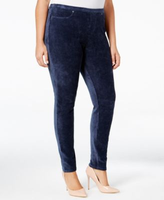 Style & Co. Plus Size Corduroy Leggings, Only at Macy's