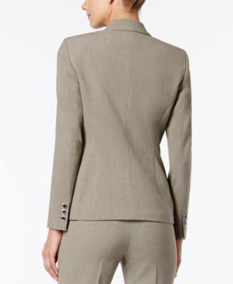 Nine West Taylor Zip-Pocket Blazer
