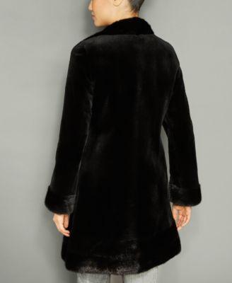 The Fur Vault Reversible Mink Fur Coat