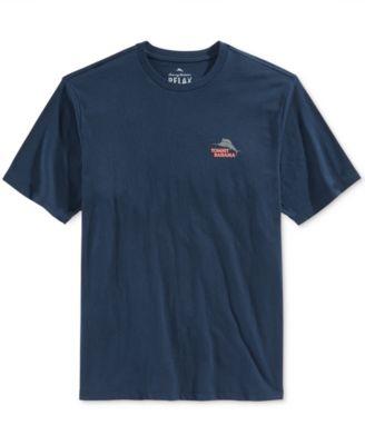 Tommy Bahama Mens Tail-Gating Graphic-Print T-Shirt