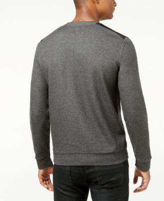 Calvin Klein Mens Slim-Fit Mixed Media..