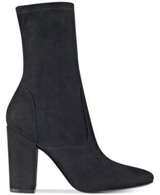 Ivanka Trump Lynna Block-Heel Booties