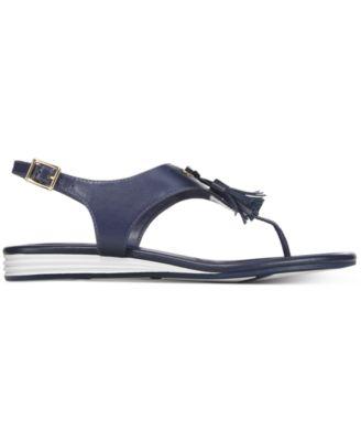 Cole Haan Womens Rona Grand Tasseled Sandals