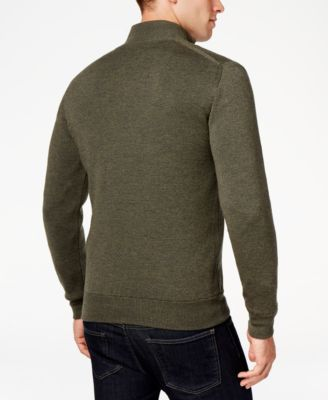 Barbour Mens Becket Quarter-Zip Sweater