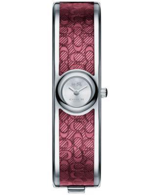 COACH Women's Scout Two-Tone Stainless Steel & Enamel Bangle Bracelet Watch 16mm 14502621