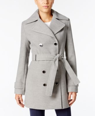Calvin Klein Belted Trench Coat Image