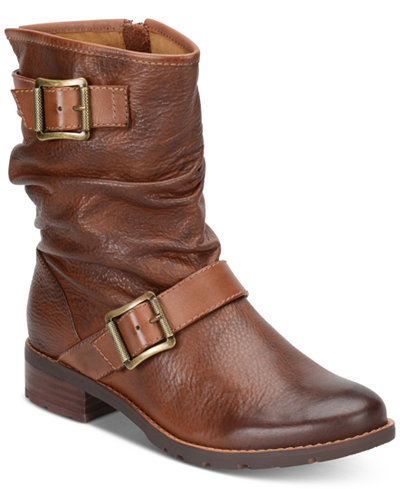 Sofft Saxton Ruched Boots - Boots - Shoes - Macy's