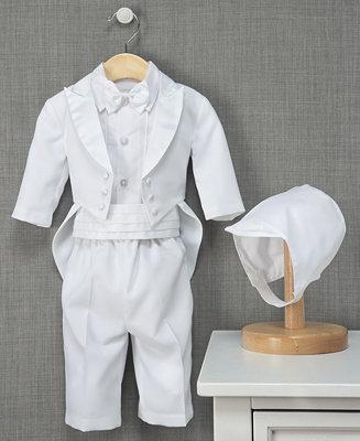 Lauren Madison Baby Boys Christening Outfit Tuxedo Set
