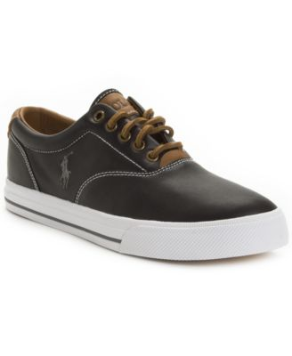 Polo Ralph Lauren Vaughn Leather Sneakers