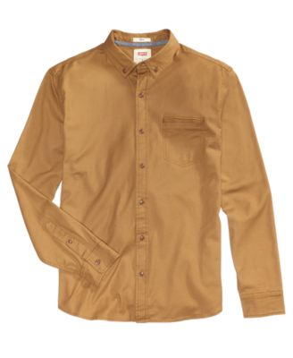 LEVI'S Levi'S® Men'S Webb Stretch Shirt  in Gold
