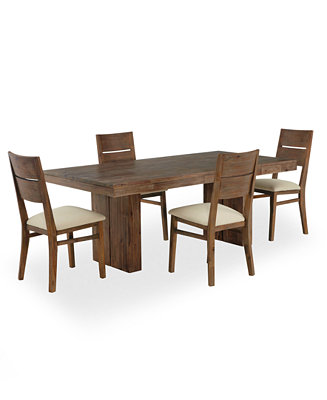 Champagne Dining Room Furniture 5 Piece Set Only At Macy