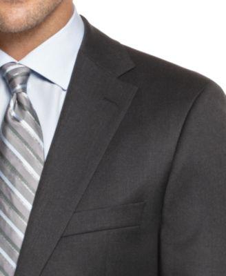 BOSS HUGO BOSS Pasolini Grey Solid Suit